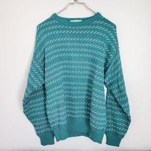 Sweaters - VINTAGE LORD JEFF 90s vibe sweater size medium